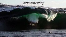 Extreme Ways of Surfing Giant Waves
