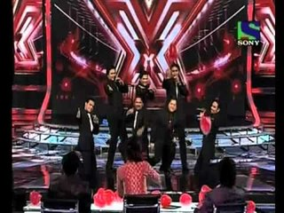 X Factor India - Deewana Group's superb performance on Ye Dil - X Factor India - Episode 10 - 17 June 2011