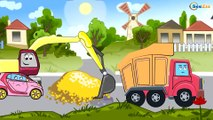 ✔Cars Cartoons Compilation for kids. Tow Truck. Monster Truck. Heavy Vehicles. Emergency Cars TV ✔