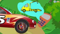 Car Cartoons for kids. Racing Car & Monster Truck Race. Track with obstacles. Episode 57