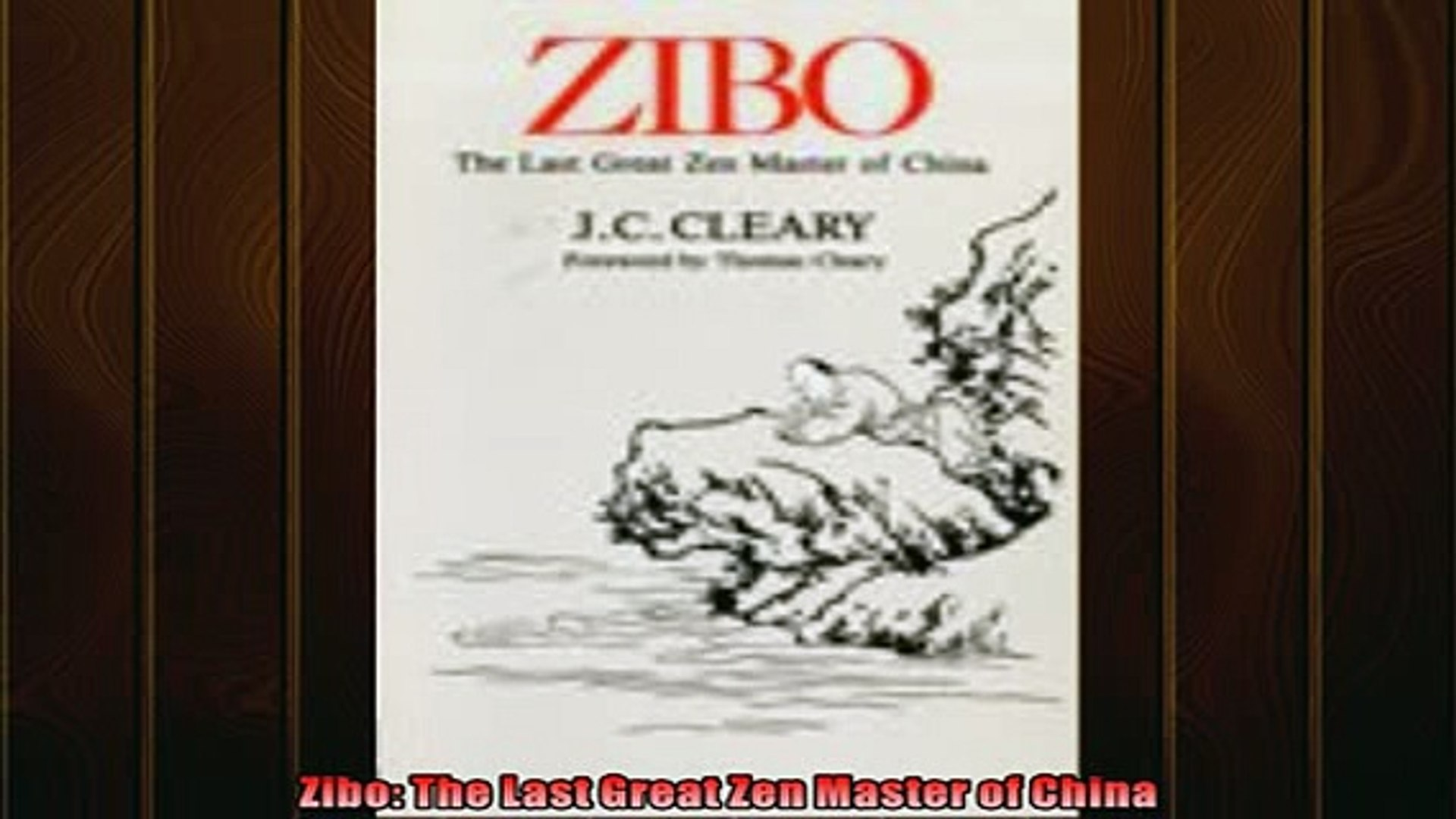 For you  Zibo The Last Great Zen Master of China