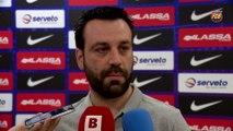 FCB Hoquei: Ricard Muñoz y Sergi Fernández, previa FCB Lassa-Club Patí Vic [ESP]
