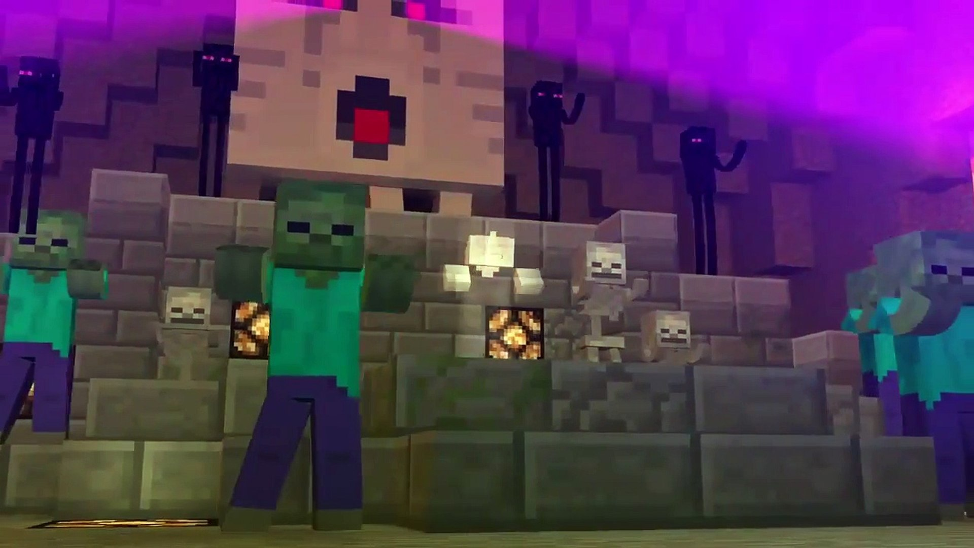 Top 5 minecraft parodies (song and animation)