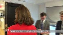 Ségolène Royal : Hillary Clinton «sera une très grande présidente des États-Unis»