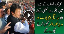 PMLN MPA and Police involved in PTI jalsa brawl