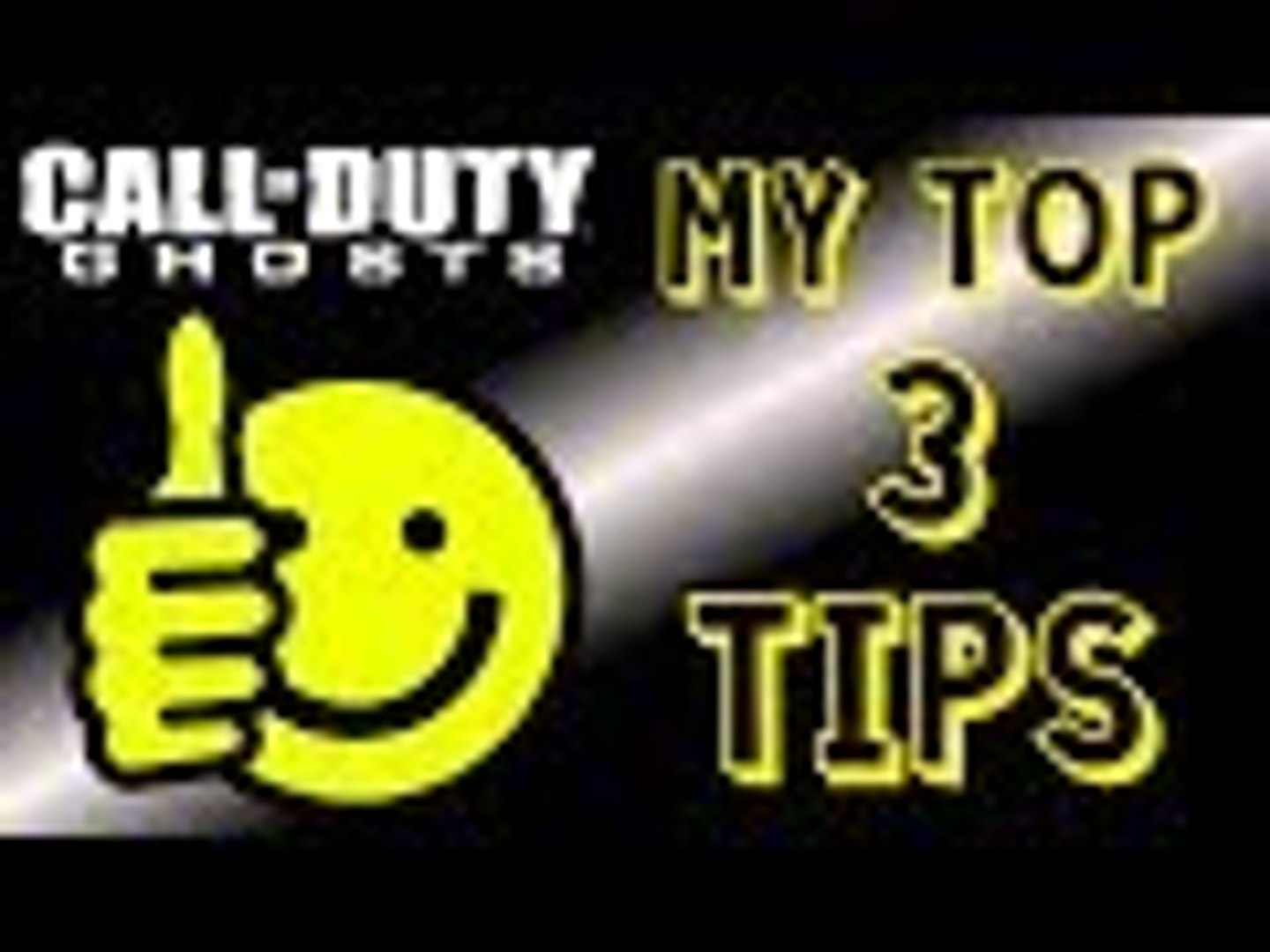 CoD: Ghosts | My Top 3 Tips For Getting Better (Ghosts Gameplay/Commentary)