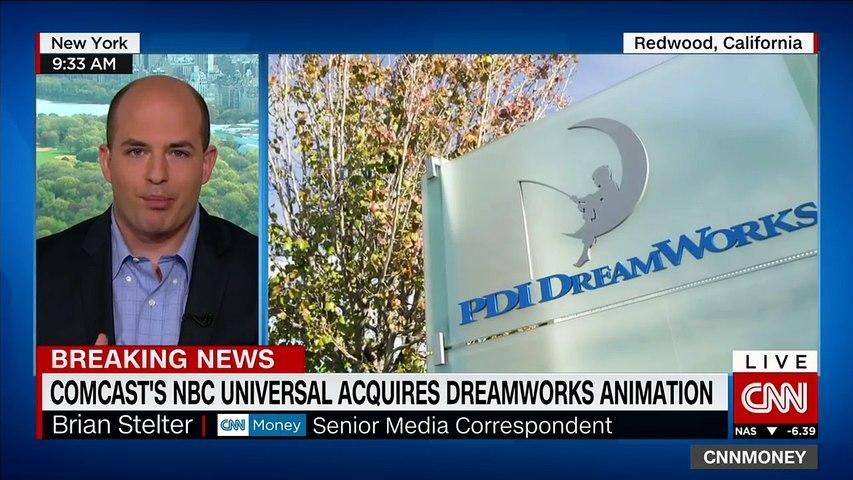 Comcasts NBC Universal acquires Dreamworks animation