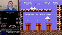 (4-57.260) Super Mario Bros. any% speedrun -World Record-