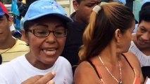 Vecinos cercanos a la refinería de Puerto La Cruz protestaron por contaminación