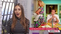 Jennifer Lopez Premieres NEW Music Video For Aint Your Mama