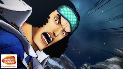 Aokiji Move Set Trailer de One Piece : Burning Blood