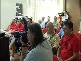 Liomatic Perugia Basket: conferenza stampa 27 luglio 2012