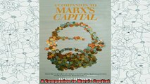 new book  A Companion to Marxs Capital