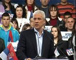 Boris Tadić na konvenciji Izbor za bolji život u Kikindi