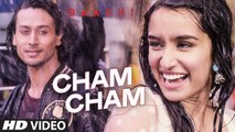 ♫ Cham Cham - Chham Chham - ||Full Video Song || - Film BAAGHI - Starring Tiger Shroff, Shraddha Kapoor-  Full HD - Entertainment CIty