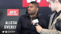 Alistair Overeem sees no issue with fighting a teammate at UFC Fight Night 87