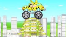 Marsupilami Truck - Monster Trucks For Kids - Marsupilami Cartoon
