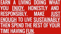 How to be a happy, honest freelancer (Leeds Trinity University 27/10/2015)