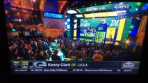 2016 NFL Draft - DT Kenny Clark Selected By The Green Bay Packers