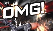 WWE - WWE 100 OMG Moments , WWE Superstars heartstopping moments ever! - WWE Wrestling