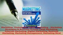PDF  Marketing Unstoppable Online Marketing  Marketing Strategies  Business Growth Web  Read Online