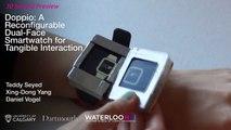 Doppio, el smartwatch de doble pantalla