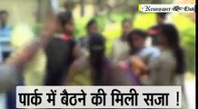 kishanganj woman police beat girl in park, kishanganj women police beat girl in park, Bihar news, patna news