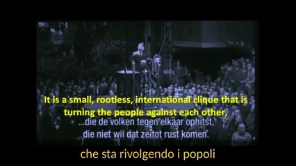 Adolf Hitler Parla Degli Ebrei