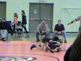 "Erik ""Peanut"" Santiago Jr. Wrestling Novice 02-25-2012"