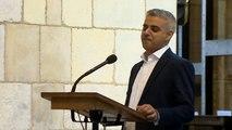 'My name is Sadiq Khan, I am the Mayor of London'