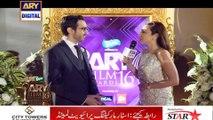 Director ARY Digital Network Mehboob Abdul Rauf On The Orange Carpet Of ARY Film Awards 2016