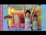 JUMP-O-LENE Play Time | Bounce and Jump Kids Fun | Indoor Jump Jump | Liam and Taylor's Corner