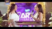 Mehwish Hayat On The Orange Carpet Of ARY Film Awards 2016