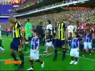 Fenerbahçe 1-1 Trabzonspor,Bursaspor şampiyonluğu