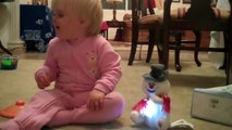 Clara and Frosty  - December 25, 2010