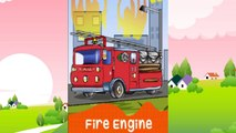 Cars for Kids - Transportation sounds - names and sounds of vehicles - Learning videos
