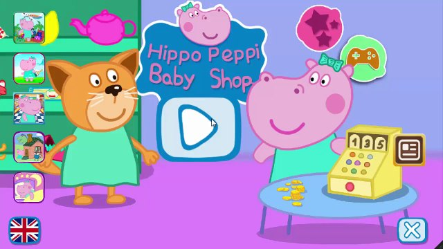 Peppa Pig English Shopping | Games For Kids | Gameplay Peppa Pig VickyCoolTV