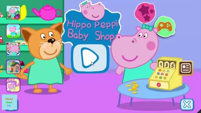 Peppa Pig En Francais Shopping   Jeux Pour Enfants   Jeux Peppa Pig VickyCoolTV
