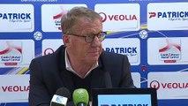 Réaction d'Alex Dupont après Clermont Foot 63 - Stade Brestois 29
