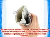 MUZZANO Pochette ORIGINALE Cocoon Gris souris pour SAMSUNG GALAXY S2 - Protection Antichoc