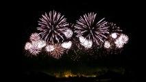 bouquet final du feu dartifice de Carcassonne 2015