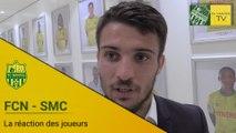 FCN-SMC : la réaction des joueurs