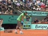 Roland Garros 2008 1/2 Final - Rafael Nadal vs Novak Djokovic