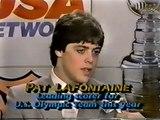 Al Trautwig Interviews Pat LaFontaine (Apr. 26, 1984) (Incomplete)