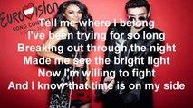 Uzari & Maimuna Time (Lyrics) Eurovision 2015 Belarus
