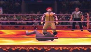 Pee wee Herman vs Ronald McDonald