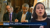 Londres plébiscite un europhile quelques semaines avant le référendum