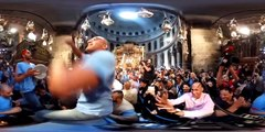 Jerusalems Holy Fire Ceremony in 360 video - BBC News