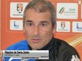 (J37) Nîmes 1-1 Laval, réaction de D.Zanko