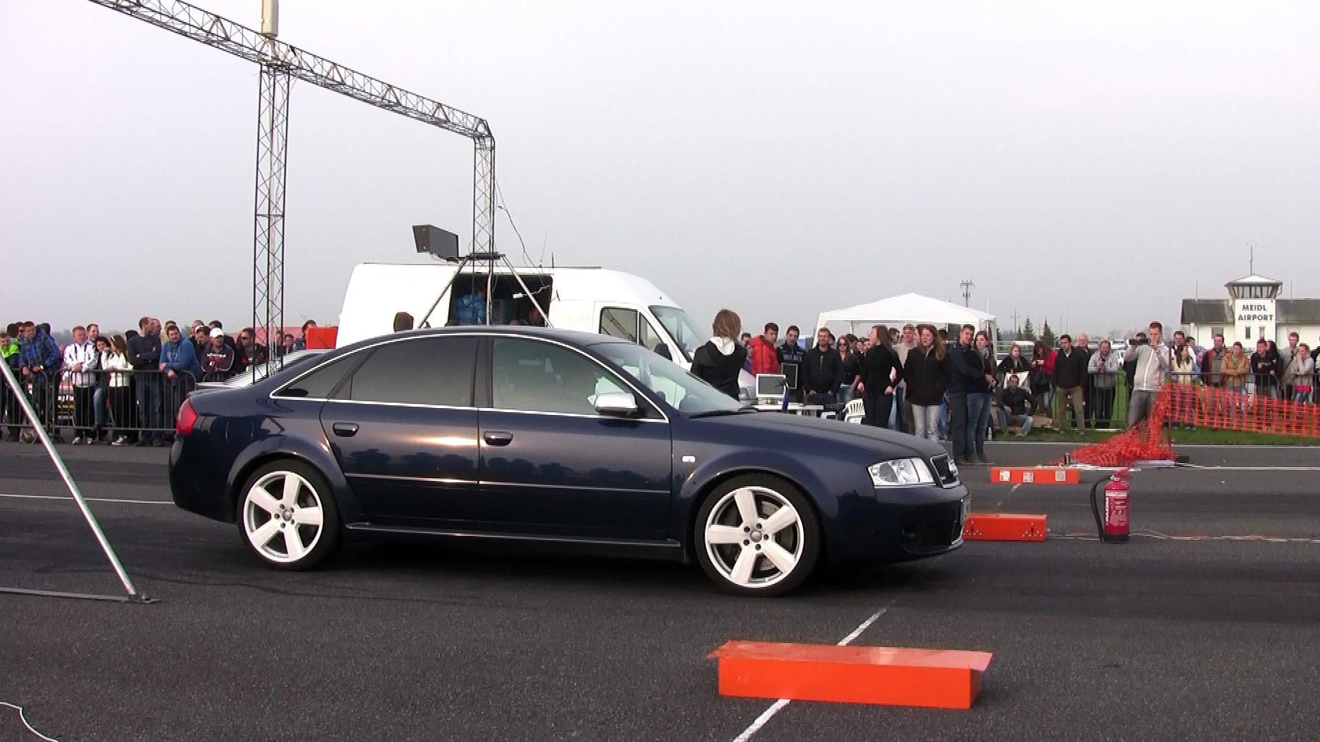 Audi RS6 Vs. Audi S2 Coupe